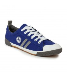 Vostro Royal Blue Grey Casual Shoes for Men - VCS0129